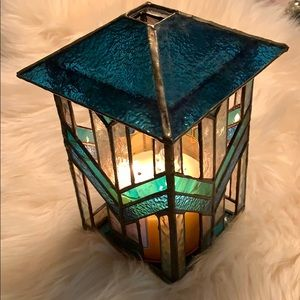 Other - Stained glass candle holder